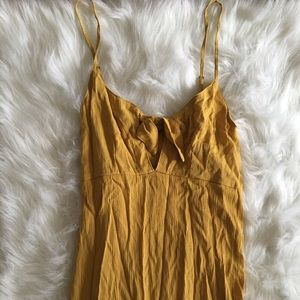Never Worn Yellow Maxi Dress